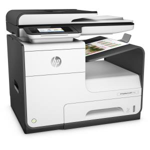 HP PageWide Pro 477dn Page Wide Array Multifunction Color Inkjet Printer - Copier - Fax - Printer - Scanner - 40ppm - 2400 x 1200dpi - Auto Document Feeder - 550 sheets Input - Fast Ethernet - USB D3Q