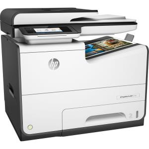 HP PageWide Pro 577dw Page Wide Array Multifunction Color Inkjet Printer - Copier - Fax - Printer - Scanner - 50ppm - 2400 x 1200dpi - Auto Duplex Print - 550 sheets Input - Fast Ethernet - Wireless L