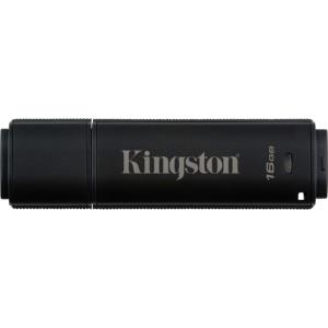 Lecteur flash Kingston DataTraveler 4000 G2 - 16 Go - USB 3.0 - 256-bit AES - 16 Go - USB 3.0 - 256-bit AES DT4000G2DM/16GB