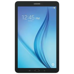 "Samsung Galaxy Tab E 8"" 16GB Android 6.0 LTE Tablet with Helsinki Prime Quad-Core Processor - Black SM-T377WZKAXAC"