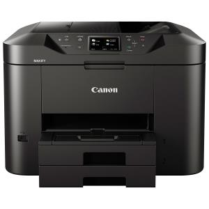 Canon MAXIFY MB2750 Inkjet Multifunction Printer - Color - Plain Paper Print - Desktop - Copier/Fax/Printer/Scanner - 600 x 1200 dpi Print - Automatic Duplex Print - 2 x Cassette 250 Sheet, 1 x Automa