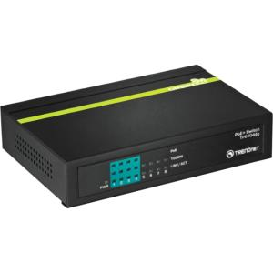 TRENDnet 8-Port Gigabit GREENnet PoE+ Switch - 8 Ports - 4 x POE+ - 4 x RJ-45 - 10/100/1000Base-T - PoE Ports - Desktop TPE-TG44G