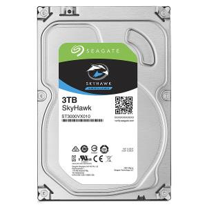 Seagate SkyHawk ST3000VX010 3 TB Hard Drive - SATA (SATA/600) - Internal - 64 MB Buffer - 3 Year Warranty