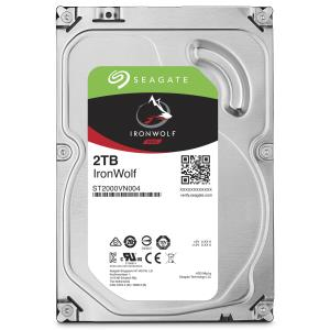 "Seagate IronWolf ST2000VN004 2 TB Hard Drive - SATA (SATA/600) - 3.5"" Drive - Internal - 5900rpm - 64 MB Buffer - 3 Year Warranty"