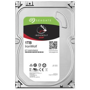 "Seagate IronWolf ST1000VN002 1 TB Hard Drive - SATA (SATA/600) - 3.5"" Drive - Internal - 5900rpm - 64 MB Buffer - 3 Year Warranty"