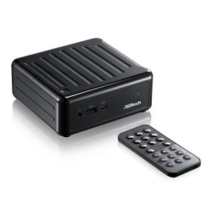 "ASRock Beebox NUC Barebone Mini PC - Intel Quad-Core J3160 up to 2.24 GHz - 2x SO-DIMM Slots - 1x mSATA - 1x 2.5"" SATA HDD slot - 1x USB 3.0 Type-C port - Gigabit LAN - 2x HDMI - DisplayPort - 2x USB"