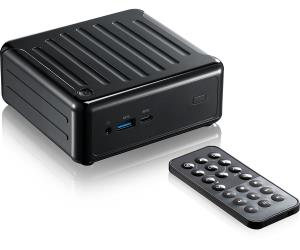 "ASRock Beebox-S Series Barebone Mini PC - Core i3-7100U (Up to 2.4GHz) - Support DDR4 2133MHz - 1x 2.5"" SATA3 - 1x M.2 (2260/2280) - 2x HDMI - DisplayPort - 2x USB 3.0 - USB 3.1 Type-C - Gb LAN - 802."