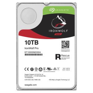 "Seagate IronWolf Pro ST10000NE0004 10 TB Hard Drive - SATA (SATA/600) - 3.5"" Drive - Internal - 7200rpm - 256 MB Buffer"