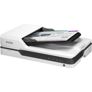 Epson WorkForce DS-1630 Flatbed Scanner - 1200 dpi Optical - 30-bit Color - 8-bit Grayscale - 25 ppm (Mono) - 25 ppm (Color) - Duplex Scanning - USB B11B239201