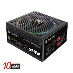 Thermaltake (RGB) 650W Toughpower Grand 80+ Gold Fully Modular Power Supply (TPG-0650FPCGUS-R) PS-TPG-0650FPCGUS-R