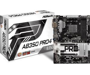 ASRock AB350 PRO4 ATX Motherboard