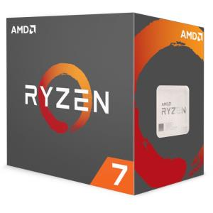 AMD RYZEN 7 1700X 3.4GHz Processor - Socket AM4 - Octa-Core (8 Core) - 16 Threads - 16MB L3 Cache - 95W TDP - 3.8GHz Max Turbo Frequency - Automatic XFR Overclocking (YD170XBCAEWOF)