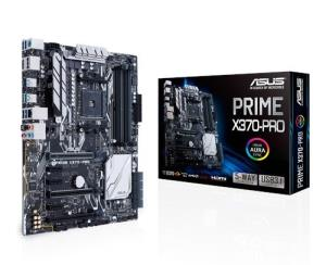 ASUS PRIME X370-PRO ATX Motherboard - Socket AM4 - AMD X370 Chipset - Supports DDR4-3200+(OC) - 2x PCIe 3.0 x16 - SLI/CrossFire Ready - 2x M.2 Socket3 - HDMI 1.4b - DisplayPort - USB 3.1 Type-A+C - In