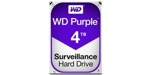 Western Digital Purple WD40PURZ 4TB SATA3 Intellipower 64MB Cache 3.5in Surveillance Hard Drive OEM