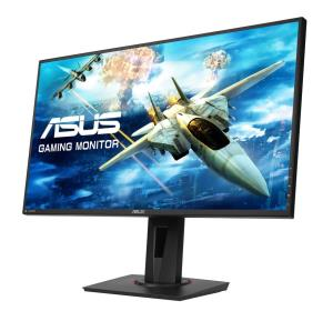 "Asus VG278Q 27"" Full HD LED LCD Monitor - 16:9 - Black - 1920 x 1080 - 16.7 Million Colors - FreeSync - 400 Nit - 1 ms - DVI - HDMI - DisplayPort"