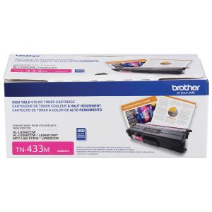 Nouveau! Brother Magenta Toner (TN433M)