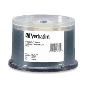 Verbatim UltraLife Gold Archival Grade - 50 x CD-R - 700 MB 52x - spindle - storage media