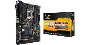 ASUS TUF Z370 Plus Gaming LGA1151 Coffee Lake DDR4 HDMI DVI M.2 USB 3.1 Z370 ATX Motherboard TUF Z370-Plus Gaming