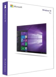 Microsoft Windows 10 Pro with Creators Update - 32/64-bit - Box Pack - 1 License - USB Flash Drive - English (FQC-10069)