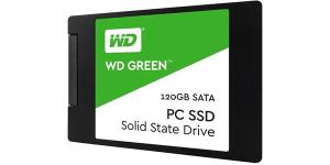 WD Green 120GB 2.5in SATA3 Solid State Drive (SSD) WDS120G2G0A