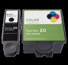 Compatible DELL DW905 / DW906 INK / INKJET Cartridge Combo Pack Black Tri-Color