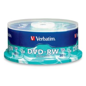 Verbatim - 30 x DVD-RW - 4.7 GB 1x - 2x - spindle
