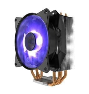 Cooler Master MasterAir MA410P RGB CPU Cooler - MasterFan 120 Air Balance RGB Fan - 4x Heatpipes - Wired RGB LED Controller - Continuous Direct Contact Technology 2.0 - AMD AM4 Ready (MAP-T4PN-220PC-R