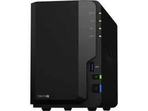 Synology DiskStation DS218+ SAN/NAS Storage System - Intel Celeron J3355 Dual-core (2 Core) 2 GHz - 2 x HDD Supported - 24 TB Supported HDD Capacity - 2 x SSD Supported - 2 GB RAM DDR3L SDRAM - Serial