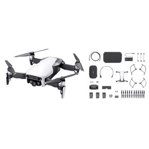 Ensemble Fly More avec drone quadricoptère Mavic Air de DJI - Blanc arctique CP.PT.00000165.01