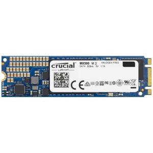 Crucial MX500 500GB M.2 Internal Solid State Drive - SATA III 6 Gb/s - Silicon Motion SM2258 Controller - Micron 3D TLC NAND Flash - AES-256 Data Encryption (CT500MX500SSD4)