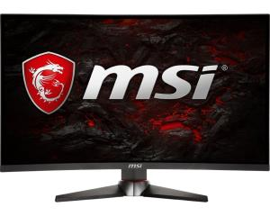 "MSI Optix MAG27CQ 27"" Curved 1800R VA LED Gaming Monitor - 2560x1440 - 144Hz Refresh Rate - 1ms - 250 cd/m2 - 85% NTSC & 110% sRGB - DP 1.2 - HDMI 2.0 - DVI - 3.5mm Audio - Supports AMD Adaptive Sync"
