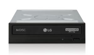 LG WH16NS60 Internal SATA Ultra HD Blu-ray Drive - M-DISC Support - Silent Play - Max. 16X BD-R Read and Write - BDXL Support - 4MB Cache (WH16NS60)