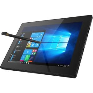"Lenovo Tablet 10 20L3000HUS Tablet - 10.1"" - 4 GB LPDDR4 - Intel Celeron N4100 Quad-core (4 Core) 1.10 GHz - 128 GB - Windows 10 Pro 64-bit - 1920 x 1200 - In-plane Switching (IPS) Technology - Black"