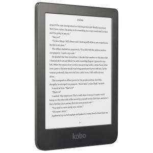 "Kobo Clara Hd 6"" Digital Ebook Reader With Touchscreen - Black N249-KU-BK-K-EP"