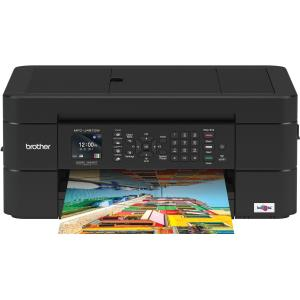 Brother MFC MFC-J491DW Inkjet Multifunction Printer - Color - Copier/Fax/Printer/Scanner - 6000 x 1200 dpi Print - Automatic Duplex Print - 2400 dpi Optical Scan - 100 sheets Input - Wireless LAN MFCJ