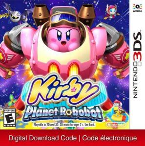 Nintendo 3Ds Kirby: Planet Robobot (Digital Download) 6000198505229