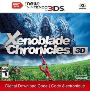 Nintendo 3Ds Xenoblade Chronicles 3D (New 3Ds Family Only) (Digital Download) 6000198505482
