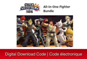 Nintendo 3Ds Super Smash Bros. All-In-One Fighter Bundle [Download] 6000198820989