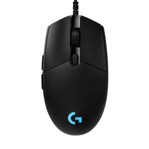 Logitech G PRO Hero Gaming Mouse - 16000 DPI Sensor - Mechanical Switches - Customizable RGB Lighting - 6 Progammable Buttons & Onboard Memory (910-005439)