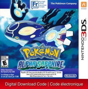 Nintendo 3Ds Pokemon Alpha Sapphire [Download] 6000198900437