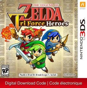Nintendo 3Ds The Legend Of Zelda: Tri Force Heroes [Download] 6000198905925