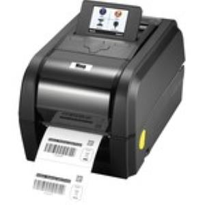 "Wasp WPL308 Direct Thermal/Thermal Transfer Printer - Monochrome - Desktop - Label Print - 83.33 ft Print Length - 4.25"" Print Width - 8 in/s Mono - 203 dpi - Continuous Paper, Die-cut Label, Black Ma"