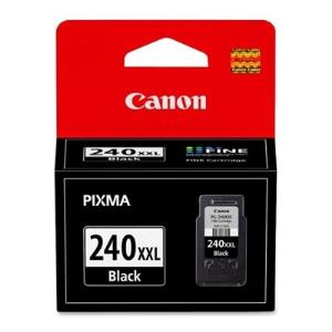 Genuine Canon PG-240XXL EXTRA HIGH Yield Black Ink Tank CNMPG240XXL