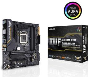 ASUS TUF Z390M-Pro Gaming (Wi-Fi) LGA1151 (Intel 8th and 9th Gen) DDR4 DP HDMI M.2 Z390 Micro ATX (mATX) Motherboard with Onboard 802.11 ac Wi-Fi and USB 3.1 Ge