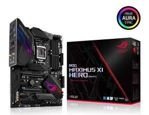 Asus Rog Maximus Xi Hero (wi-fi) Desktop Motherboard - Intel Chipset - Socket H4 Lga-1151 - Atx - 1 X Processor Support - 64 Gb Ddr4 Sdram Maximum Ram - 3 Ghz O.c., 2.80 Ghz O.c., 3.60 Ghz O.c., 3.87