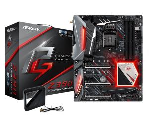ASRock Z390 Phantom Gaming 9 ATX Motherboard - Socket LGA 1151 - Intel Z390 Chipset - Support DDR4-4266+(OC) - 3x PCIe 3.0 x16 - 2x PCIe 3.0 x1 - 3x M.2 Socket3 - USB 3.1 Gen2 Type-C+A - HDMI - DP - 2