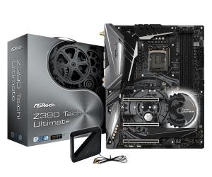 ASRock Z390 Taichi Ultimate ATX Motherboard - Socket LGA 1151 - Intel Z390 Chipset - Support DDR4-4200+(OC) - 3x PCIe 3.0 x16 - 3x M.2 Socket3 - USB 3.1 Gen2 Type-C+A - HDMI - DP - AQUANTIA 10 Gigabit