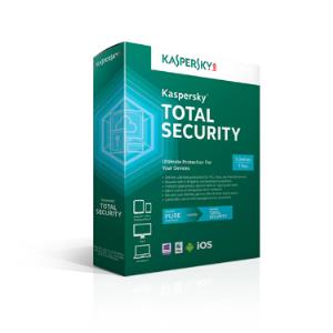 Kaspersky Total Security 2018 5-User 1Yr BIL KL1919ABEFS-1712CZZ