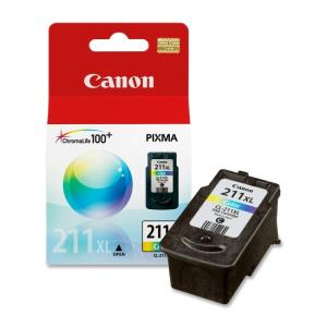 Canon CL-211XL Ink Cartridge - Cyan, Magenta, Yellow - Inkjet - 349 Pages Tri-color - 1 Each 2975B001