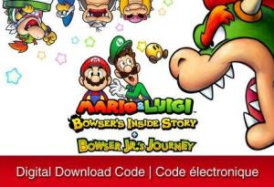 Nintendo 3Ds Mario & Luigi: Bowser's Inside Story + Bowser Jr.'S Journey [Download] 6000199335157